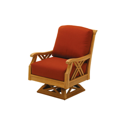 Halifax Deep Seating Swivel Rocker | Garden armchairs | Gloster Furniture