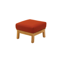 Halifax Deep Seating Ottoman | Garden stools | Gloster Furniture