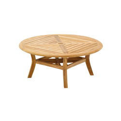 Halifax Round Coversation Table | Tables basses de jardin | Gloster Furniture
