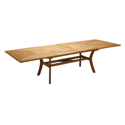 Halifax Large Extending Table (Seats 8-10) | Mesas de comedor de jardín | Gloster Furniture