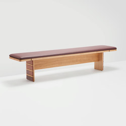 Brick bench | Waiting area benches | H Furniture