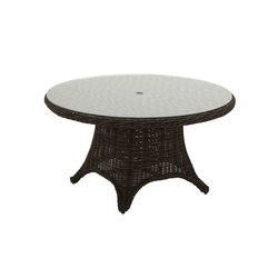 Havana 54 inch Round 6-Seater Table | Tables à manger de jardin | Gloster Furniture