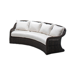 Havana Deep Seating Curved Sofa | Garden sofas | Gloster Furniture