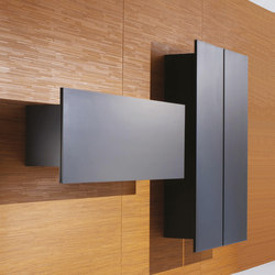 Decor | Wall Covering with doors | Wall storage systems | Laurameroni