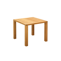 Square 92cm Square Table | Tables à manger de jardin | Gloster Furniture GmbH