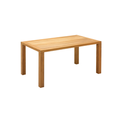 Square 92cm x 158cm Table | Dining tables | Gloster Furniture GmbH
