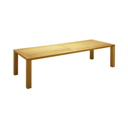 Square 115cm x 300cm Table | Tables à manger de jardin | Gloster Furniture