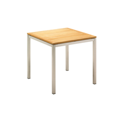 Kore 80 cm Square Table | Garten-Esstische | Gloster Furniture