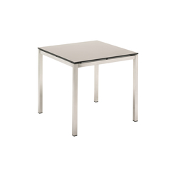 Kore 80 cm Square Table | Dining tables | Gloster Furniture