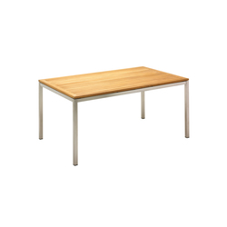Kore 98cm x 162cm Table | Tables à manger de jardin | Gloster Furniture