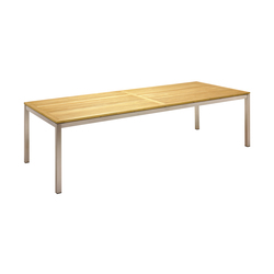 Kore 110cm x 280cm Table | Tables à manger de jardin | Gloster Furniture