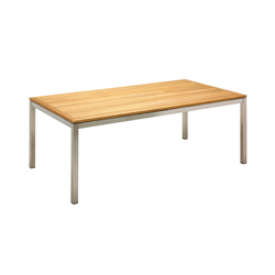 Kore 110cm x 206cm Table | Tables à manger de jardin | Gloster Furniture