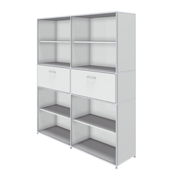 Bosse Shelving Unit 5 FH | Office shelving systems | Bosse Design