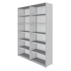 Bosse Shelving Unit 6 FH | Office shelving systems | Bosse Design