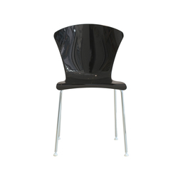 GLOSSY | Visitors chairs / Side chairs | FORMvorRAT