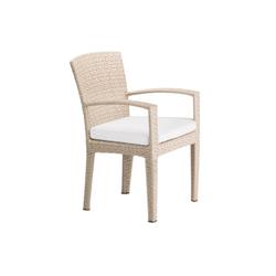 Panama Ecru Poltrona Pranzo | Sedie da giardino | DEDON
