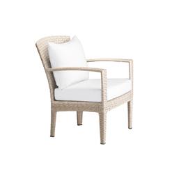 Panama Ecru Lounge chair | Garden armchairs | DEDON