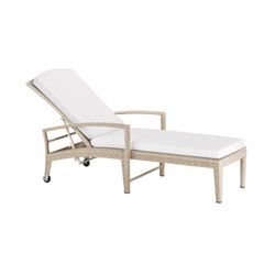 Panama Ecru Beach chair | Sun loungers | DEDON
