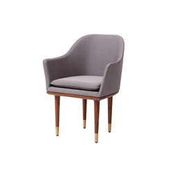 Lunar Dining Chair Large | Restaurant chairs | Stellar Works