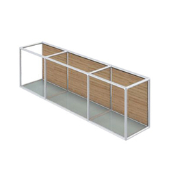 Bosse Wall-mounted Sideboard 1 FH | Sideboards | Bosse Design