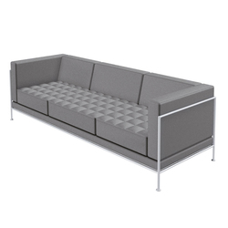 Bosse Three-Seater Sofa | Canapés d'attente | Bosse Design