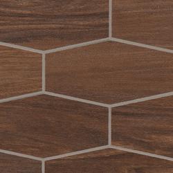 Treverkchic Noce Americano Mosaico | Mosaicos | Marazzi Group