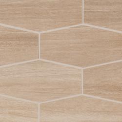 Treverkchic Noce Francese Mosaico | Mosaici ceramica | Marazzi Group