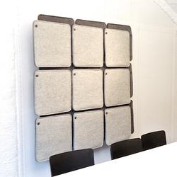 FeltTile | Suspended panels | Rom & Tonik