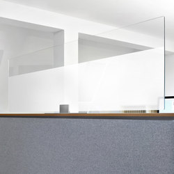 ARCHITECTS GLASS desktop | Space dividing systems | acousticpearls