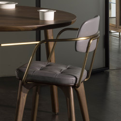 Utility Armchair U | Restaurant chairs | Stellar Works