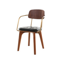 Utility Armchair V | Restaurant chairs | Stellar Works