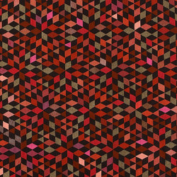 Triangles Diamond strawberry | Rugs / Designer rugs | GOLRAN 1898