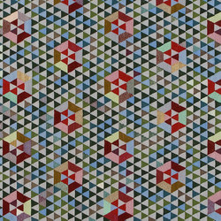 Triangles Trianglehex sweet green | Alfombras / Alfombras de diseño | GOLRAN 1898