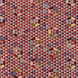 Triangles Trianglehex sweet pink | Rugs / Designer rugs | GOLRAN 1898