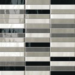 Manhattan Tratti Grigi | Ceramic mosaics | Fap Ceramiche