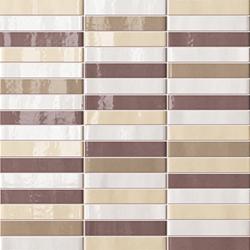 Manhattan Tratti Terre | Mosaici | Fap Ceramiche