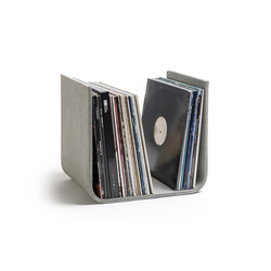 U-shaped vinyl record holder | Contenitori / Scatole | lebenszubehoer by stef's