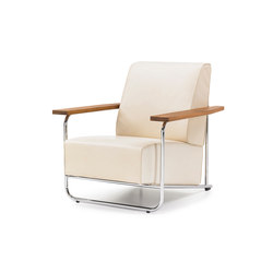 Lovell Easy Chair Steel | Lounge chairs | Neutra by VS