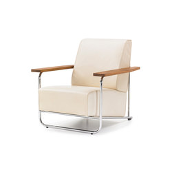 Lovell Easy Chair Steel | Lounge chairs | VS