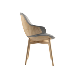 Ciel! Woody Chair | Visitors chairs / Side chairs | TABISSO