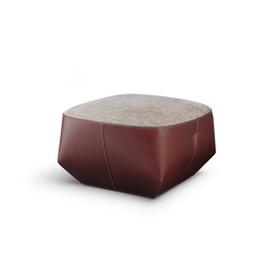 Isanka Upholstered Seat | Poufs | Walter Knoll