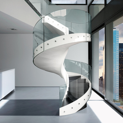 Helix | Glass balustrade panels | Casali