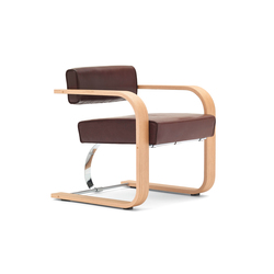 Cantilever Chair Wood | Sedie visitatori | VS
