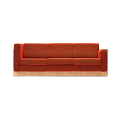 Alpha Seating Dreisitzer-Sofa | Lounge sofas | VS