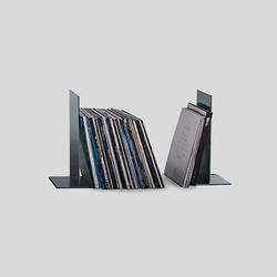 Vinyl record holder wineTee® system | Living room / Office accessories | lebenszubehoer by stef's