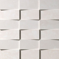 Supernatural Avorio 3D Mosaico | Mosaicos | Fap Ceramiche