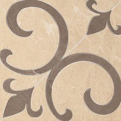 Supernatural Giglio Crema Brillante Inserto | Planchas | Fap Ceramiche