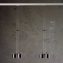 suspended track lighting. pinpin track lighting buschfeld design suspended
