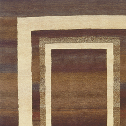 Gamba | Triple Border | Rugs / Designer rugs | Jan Kath