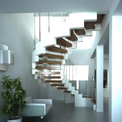 Cobra white   Staircase systems   Siller Treppen